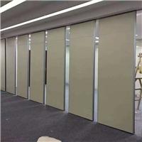龙岗室内推拉屏风吊趟门可折叠活动隔断墙