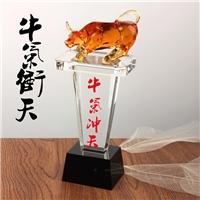 广州水晶奖杯厂家 琉璃奖杯工厂 奖牌批发 奖杯礼品
