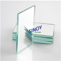 青島廠家供應4mm超白防水鍍銀鏡子