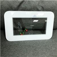 6mm面板視窗玻璃 顯示屏觸摸面板鋼化玻璃 CNC加工