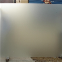 厂家定制无手印玻璃喷砂蒙砂玻璃