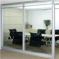 厂家供应雾化玻璃智能调光玻璃办公室隔断玻璃