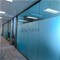 隔断玻璃磨砂贴 办公室玻璃贴磨砂膜 恒嘉膜业上门安装