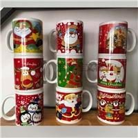 外貿出口馬克杯 聖誕節 萬聖節 復活節禮品陶瓷杯 加工定做LOGO