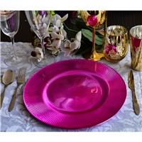 彩色玻璃射线餐盘