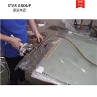 夹胶弯钢玻璃用真空膜 弯钢玻璃夹胶材料