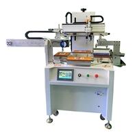 玻璃标牌丝印机玻璃花盆丝网印刷机玻璃面板网印机