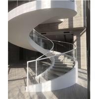 旋转楼梯玻璃