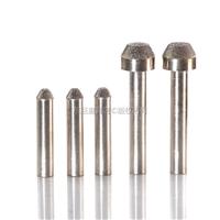 东巨直径10毫米梯形电镀带柄砂轮磨头 支持订做