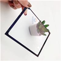 AR防反射保护屏玻璃 液晶透明钢化玻璃 定制AR镀膜光学钢化玻璃