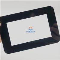 显示器盖板玻璃 玻璃 2mm3mm黑边丝印钢化玻璃面板