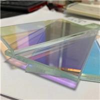 炫彩玻璃 廣東格美特幻彩變色玻璃 七彩夾膠鋼化玻璃
