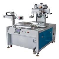 上海市玻璃镜片丝印机亚克力面板丝网印刷机厂家