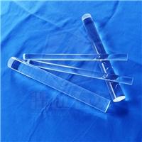 浩遠石英耐高溫腐蝕酸堿高純透明石英棒定制石英玻璃棒導光棒