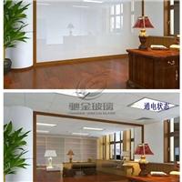 办公隔断光电雾化玻璃 通电变色玻璃 智能调光玻璃生产厂家