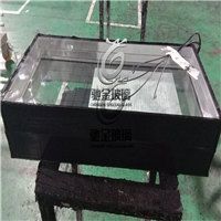 佛山电加热玻璃厂家供应冷柜电加热除雾除霜玻璃