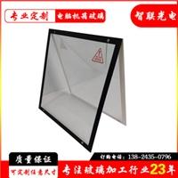 供应电脑机箱钢化玻璃  钢化玻璃丝印加工定制