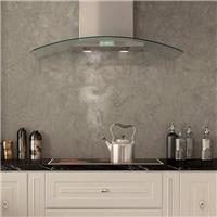 厨房油烟机前面板触控钢化丝印面板