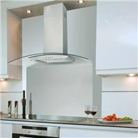 可拆卸厨房油烟机钢化丝印面板