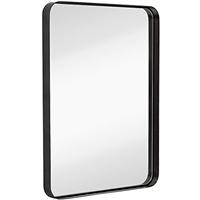 定制鐵框浴室框鏡衛浴酒店房間裝飾鏡子 壁掛墻 矩形圓形拱形等形狀均可定制