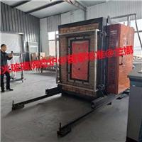 山東臨朐方正玻璃使用我公司燒檢爐900*1500檢測爐