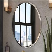 3-6mm浴室斜邊鏡
