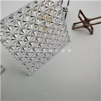 鉆石紋水晶掛片 水晶屏風 水晶玻璃配件裝飾