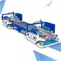 佛山玻璃生產機械 直線型自動圓邊磨邊生產線