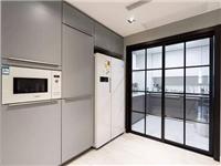 厨房玻璃门透明还是磨砂  厨房玻璃门日常保养方法