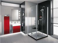 玻璃淋浴房应该怎么安装  玻璃门锁的施工安装方法