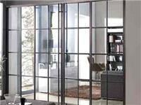 玻璃推拉门如何施工安装  玻璃推拉门配件怎样挑选