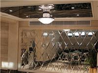 玻璃拼镜作为装饰的优点  拼镜玻璃装饰墙面好不好