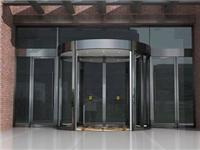 旋转玻璃门主要构成部件  旋转玻璃门有何结构特点