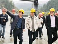 旗滨集团矿业总监曹雨昌一行莅临资兴砂矿检查指导工作