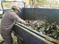 大兜路开通杭州首条商街废旧玻璃收运专线