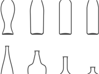 玻璃瓶生产厂家对玻璃制品的设计