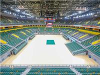 采光不用电 玻璃能隔热 郑州奥体中心体育馆场级别不输NBA