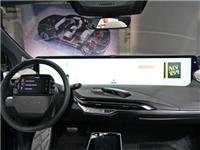 """车内液晶屏,48寸""""电视""""横放前挡玻璃下,科技感爆表"""