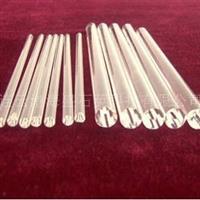 透明石英棒单端卤素灯的压桥棒 光纤照明 2.0±0.1mm