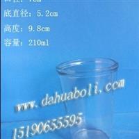 210ml玻璃杯 酒杯 水杯 口杯 玻璃烛台