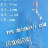 廠家直銷270ml酒瓶,保持健康酒瓶,定做酒瓶,工藝酒瓶