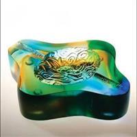 琉璃烟灰缸