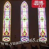 欧式教堂彩绘玻窗