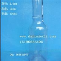 520ml高质量饮料瓶,汽水瓶,果汁玻璃瓶