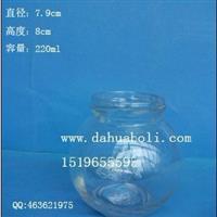 220ml醬菜玻璃瓶罐頭瓶蜂蜜瓶燕窩瓶