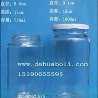 黄桃罐头瓶 酱菜瓶 定做食品玻璃瓶 蜂蜜瓶