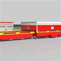 供應玻璃設備-GX-P系列水平式玻璃平鋼化生產線機組.鋼化爐