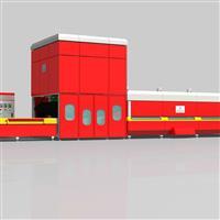 供应玻璃设备-GX-QDL强制对流型钢化玻璃机组.钢化炉