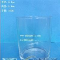 220ml高白料玻璃杯,出口玻璃杯 ,厂家直销玻璃杯