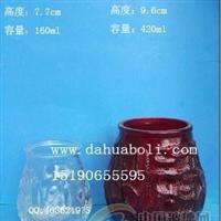160ml--420ml玻璃燭臺 工藝燭臺 蠟燭杯 噴漆玻璃燭臺